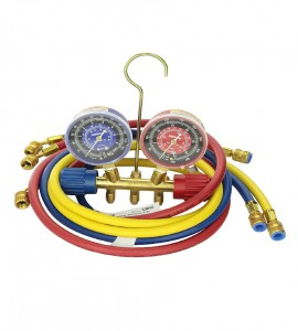 SIDE-WHEEL MANIFOLD GAUGE  FOR R22, R134a (non automotive) 60""