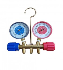 "MANIFOLD GAUGE SET FOR R22, R410a, (R32) 72"" HOSE"